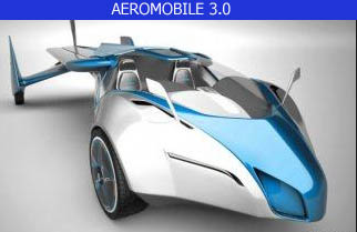 Aeromobile 3.0 flying car concept