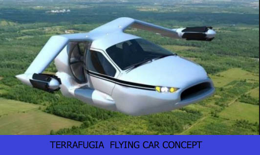 Terrafugia flying car concept