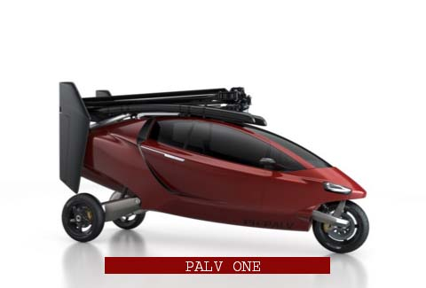 PAL V ONE Flying Car