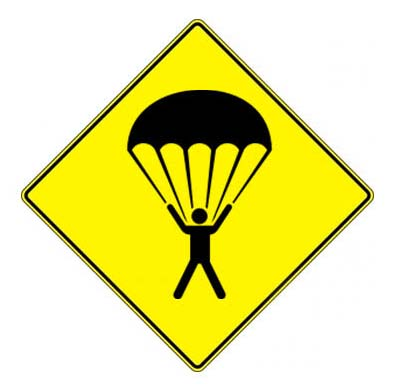emergency parachute safe landing flying car