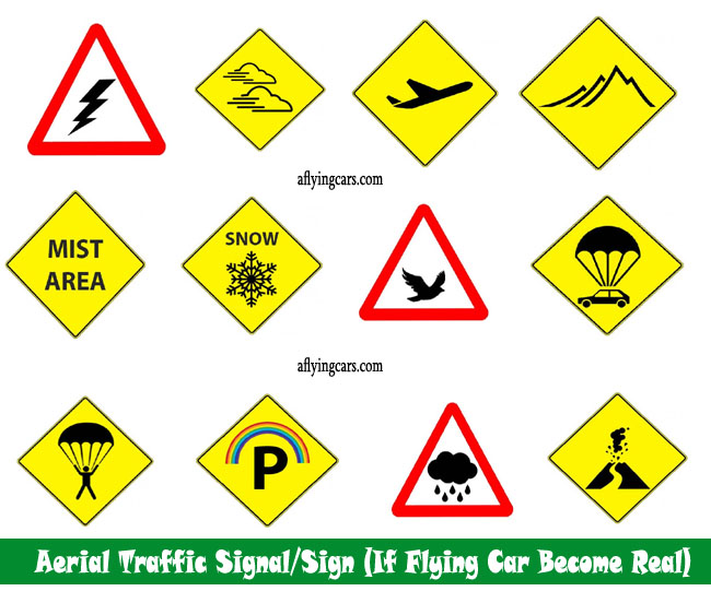 Air-Space Signals sign concepts