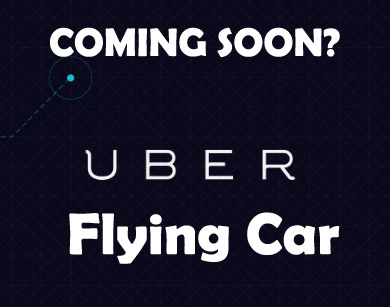 Uber Planning To Launch Flying Car For Transportation